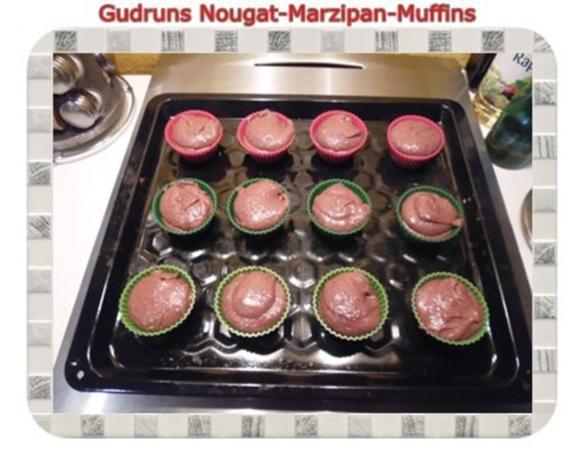 Muffins: Nougat-Marzipan-Muffins - Rezept - Bild Nr. 10
