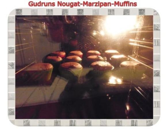 Muffins: Nougat-Marzipan-Muffins - Rezept - Bild Nr. 11