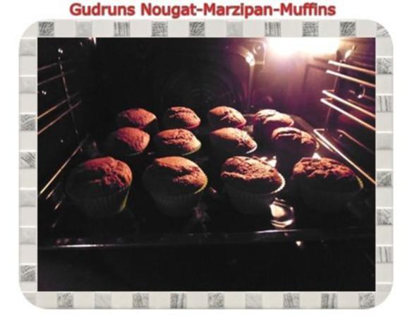 Muffins: Nougat-Marzipan-Muffins - Rezept - Bild Nr. 12