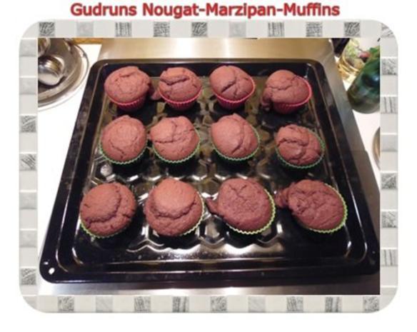 Muffins: Nougat-Marzipan-Muffins - Rezept - Bild Nr. 13