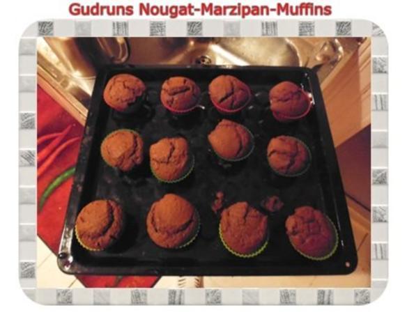 Muffins: Nougat-Marzipan-Muffins - Rezept - Bild Nr. 14
