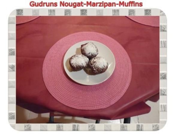 Muffins: Nougat-Marzipan-Muffins - Rezept - Bild Nr. 17