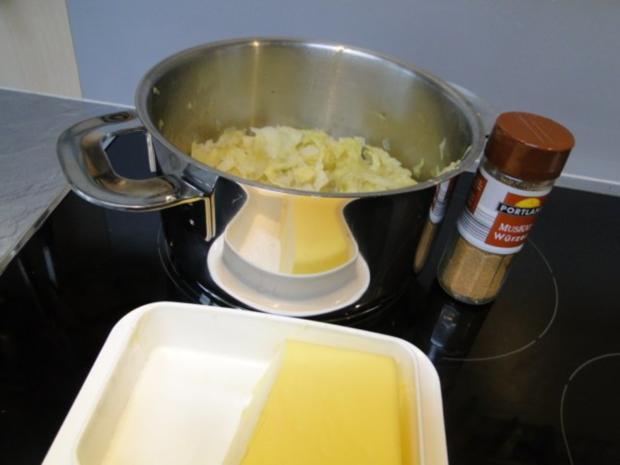 Butterspitzkohl mit Ministeaks vom Hähnchenbrustfilets - Rezept - Bild Nr. 2