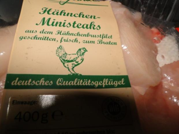Butterspitzkohl mit Ministeaks vom Hähnchenbrustfilets - Rezept - Bild Nr. 5