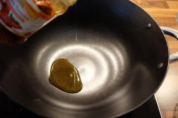 Garnelen Nudel Pfanne mit eingelegten Tomaten - Rezept - Bild Nr. 3