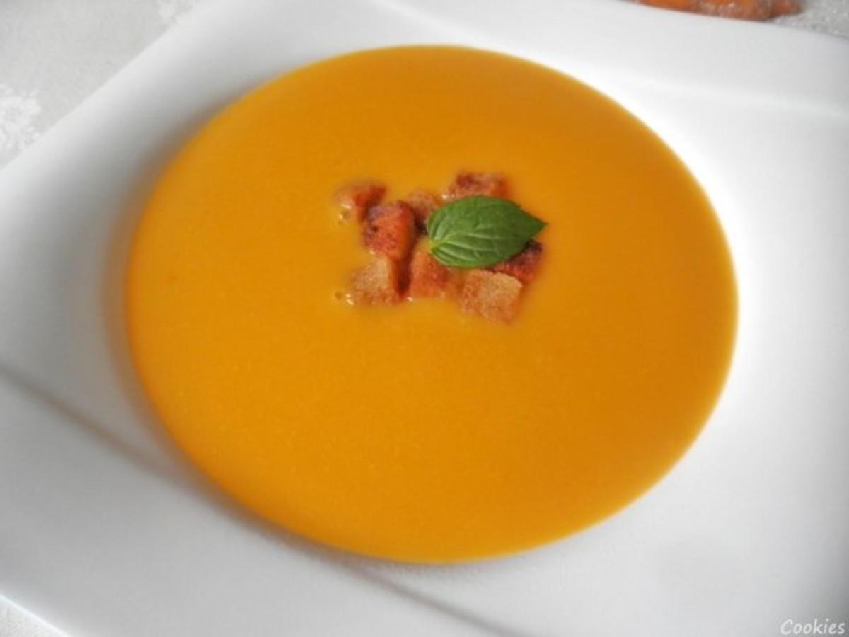 apfel sanddorn suppe mit zimt croutons rezept. Black Bedroom Furniture Sets. Home Design Ideas