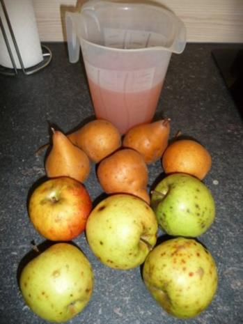Quitten-Apfel-Birnen Saft - Rezept - Bild Nr. 3