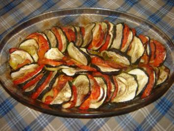 Gemüse aus dem Ofen - Rezept