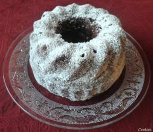 Rezept: Kleiner Schokoladen - Puddingkuchen
