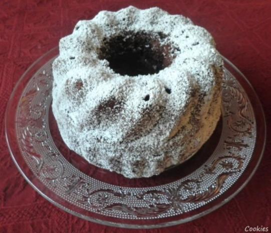 Kleiner Schokoladen - Puddingkuchen - Rezept