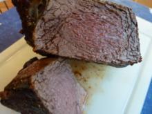 Würziger NT-Rinderbraten fürs kalte Buffet - Rezept