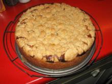 Mohnkuchen mit Quark und Streusel - Rezept