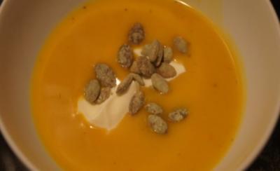 Butternut-Kürbissuppe - Rezept