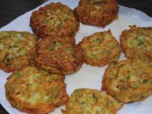 Griechische Zucchinipuffer - Rezept
