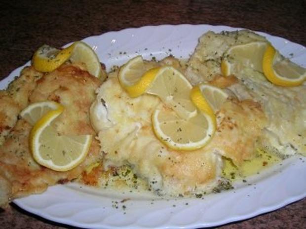 Warmer Kartoffelsalat mit Speck sehr lecker zu Bratfisch hier: Schellfischfilet - Rezept - Bild Nr. 2