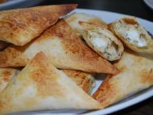 Tiropitákia - Griechische Käsedreiecke - Rezept