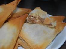 Filo-Dreiecke mit Feta-Feigen-Füllung - Rezept