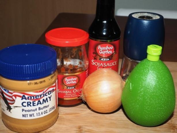 Erdnusssauce - Rezept - Bild Nr. 2