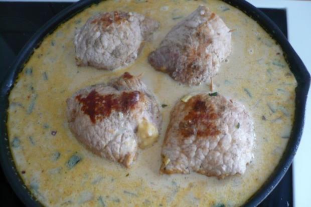 Schnitzelroulade in Rahmsoße - Rezept - Bild Nr. 13