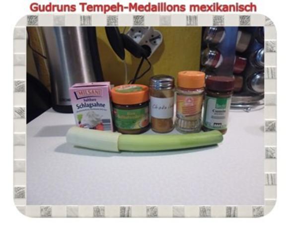 Vegetarisch: Tempeh-Medaillons mit Reis und Lauchsahne - Rezept - Bild Nr. 7