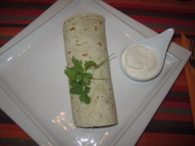 Tortillas mit Rindfleisch-Bohnen-Füllung - Rezept