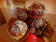 Kürbis-Kokos-Schoko-Muffins - Rezept