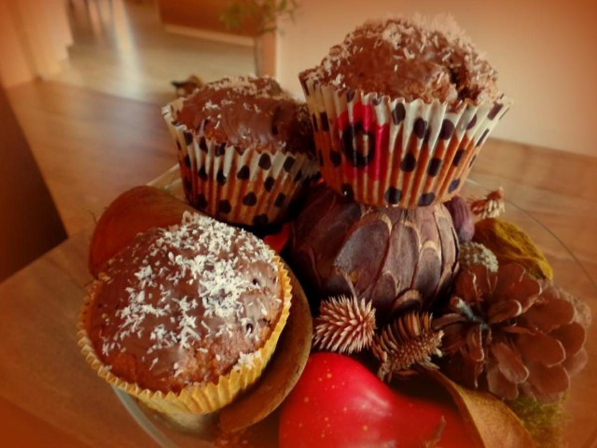 Kürbis-Kokos-Schoko-Muffins - Rezept Von Einsendungen Sri_Devi