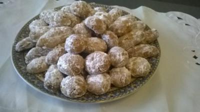 Erdnuss Ghribias - Rezept