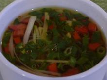 Gemüsesuppe aus der Tasse - Rezept