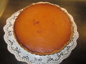 Pumpkin Pie - Rezept