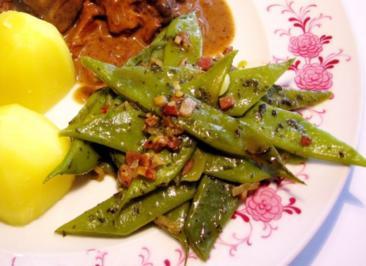 Gemüse von Stangenbohnen - Rezept