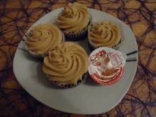 Cola-Karamell Cupcakes - Rezept