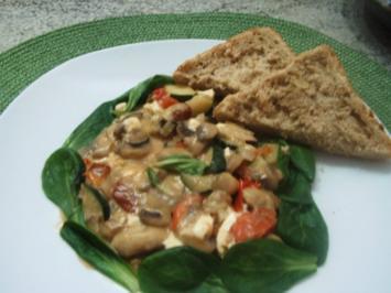 Champignon-Gemüse-Pfanne - Rezept