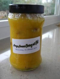 Mango-Ananas-Chutney mit Chili - Rezept