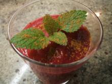 Getränke: Kaki-Rote-Bete-Cocktail - Rezept