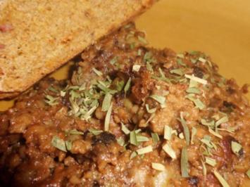 Pfannengericht: Schweinrahmcurry mit Kartoffeln-Apfel-Stampf - Rezept