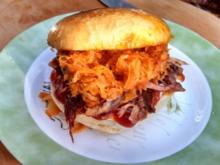 Sloppy Joe - with slow cooked Roast Pork - Rezept