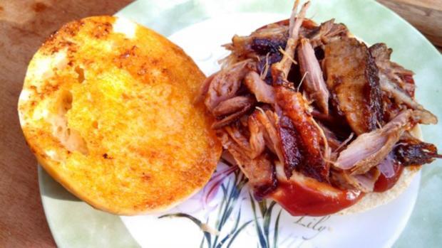 Sloppy Joe - with slow cooked Roast Pork - Rezept - Bild Nr. 3