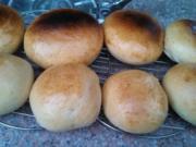 Hamburger Buns or Hot Dog Rolls - Rezept