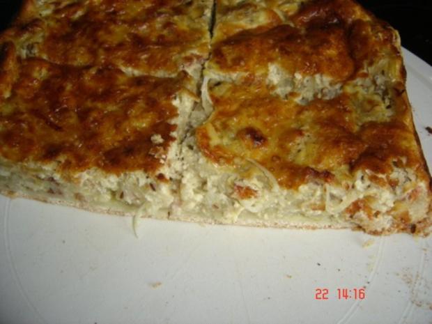 Zwiebelkuchen mit Pizzateig - Rezept - Bild Nr. 2