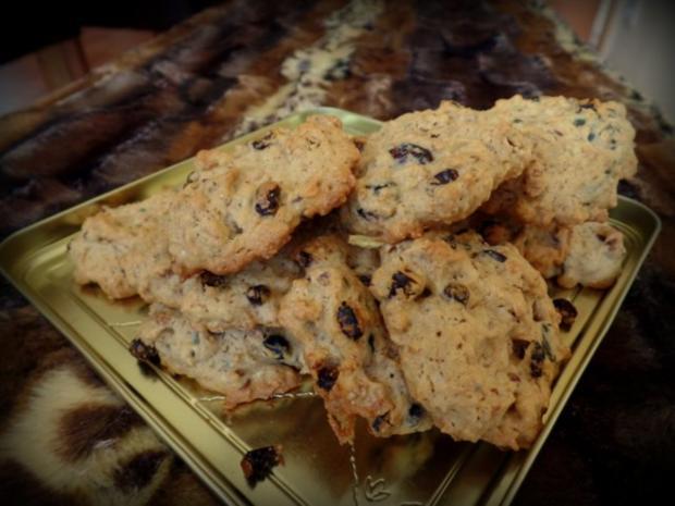 Walnuss cranberry kekse rezept