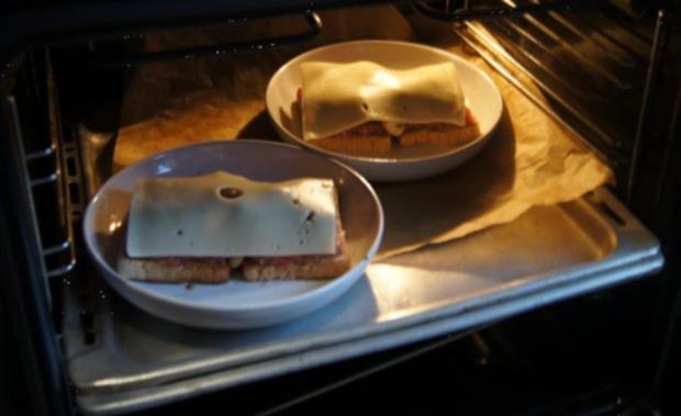 Schinkenmett-Champignon-Toast - Rezept - Bild Nr. 8