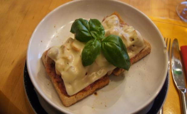 Schinkenmett-Champignon-Toast - Rezept - Bild Nr. 9