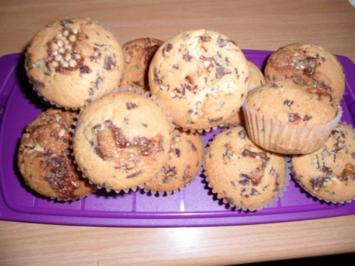 Schoko - Mandel -Muffins - Rezept