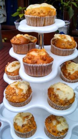 Pumpkin Cream Cheese Muffins - Rezept