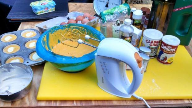 Pumpkin Cream Cheese Muffins - Rezept - Bild Nr. 2