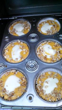Pumpkin Cream Cheese Muffins - Rezept - Bild Nr. 4