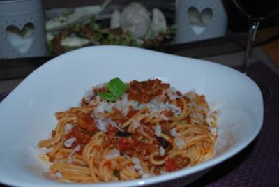 Sizilianische Spaghetti - Rezept