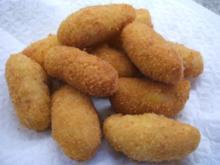 Kartoffeln: Kroketten - Rezept