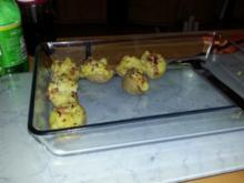 Gefüllte Ofenkartoffeln - Rezept
